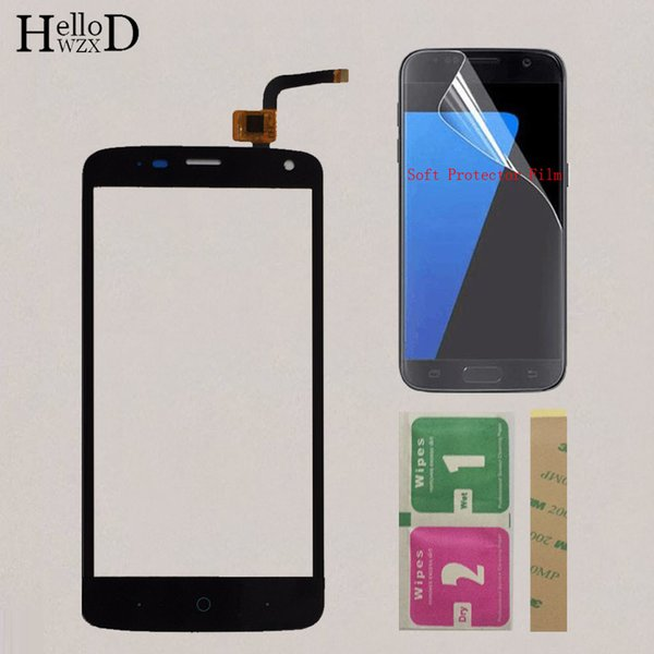 5'' Mobile Touch Screen For ZTE Blade L2 Plus L370 C370 L2Plus Touch Screen Panel Sensor Digitizer Front Glass Protector Film
