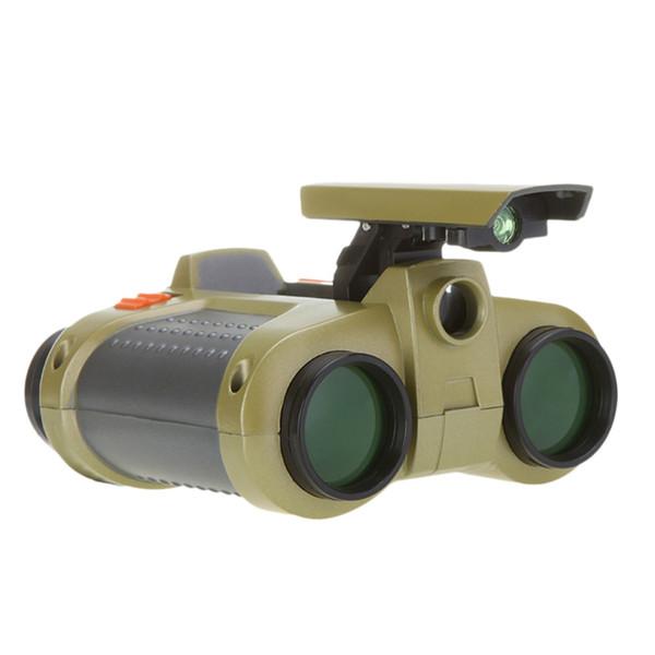 New 4x30 Binocular Telescope Pop-up Light Night Vision Scope Binoculars Novelty Children Kid Boy Toys Gifts