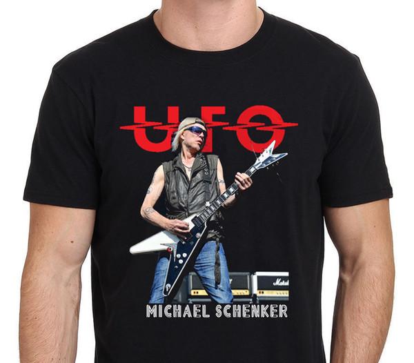 YENI Gitarist Michael Schenker logo T-Shirt ADAM KADIN Beden S - 5XL