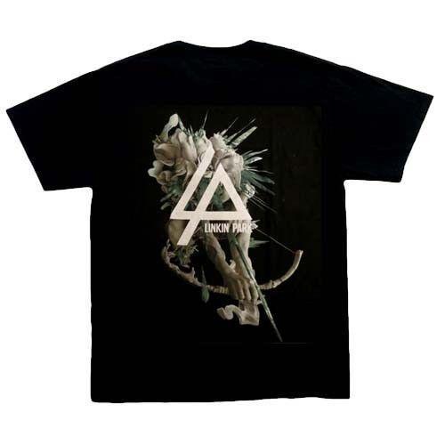 mens designer t shirts shirt Linkin Park Hunting Party T-Shirt, Black,100% cotton,New,L, XL, heavy metal.