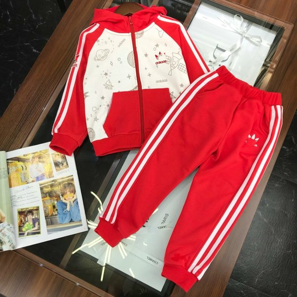 Children's wear Unisex baby Young child Summer clothing 2019 new products cute Wholesale prices Sportswear Double yarn cotton fabric fun