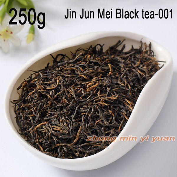 001 sale good tea the hand jin junmei wuyi black tea 2019 spring new tea authentic 250g +gift