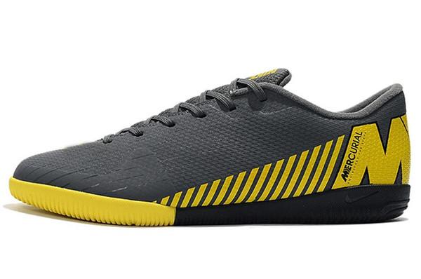 Bag Mens Low Tornozelo Botas de Futebol CR7 Mercurial VaporX VII Pro IC TF exterior sapatos Neymar ACC Superfly Turf Indoor Soccer-sadqwqwdqwdqwdqwdq