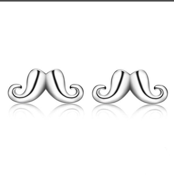 boucles d'oreilles simples pour les femmes versio femmes feuilles beauté sauvage prune argent plaqué or blanc oreille bijoux fabricants gros
