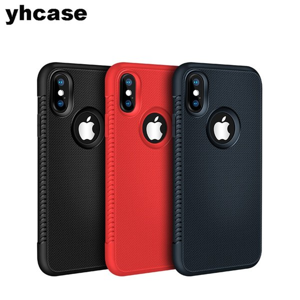 Noble Ultrathin TPU Cover Phone Case For iPhone X XS MAX XR 5 6 7 8 Full Body Protect Cover Case Non-slip Design colorful Free DHL Fedex