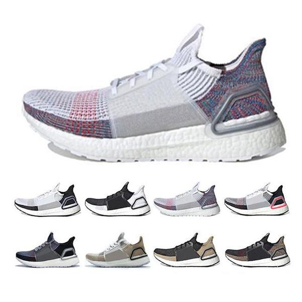 Alışveriş UltraBOOST 5.0 Sneaker Ultra Satışta 2019 4.0 Ayakkabı Artırdı, Online İndirim Sneakers Beyaz Kırmızı Renkli Üçlü Siyah Boyutu 13