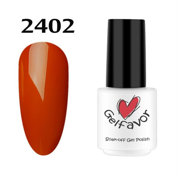 1pc 7ml UV LED Soak-Off Nail Gel Polish Gel Classic Retro Pumpkin Series Nail Polish Art 6 Colors TSLM2