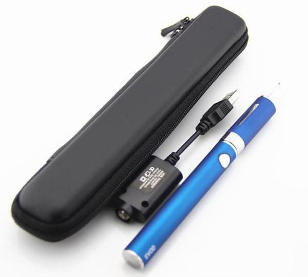 EVOD MT3 kit Long Zipper Case Kit e cigarette starter kits with EVOD battery MT3 vaporizer