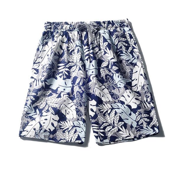 Мужские льняные шорты Спортивные рабочие повседневные набивные пляжные шорты Брюки Брюки