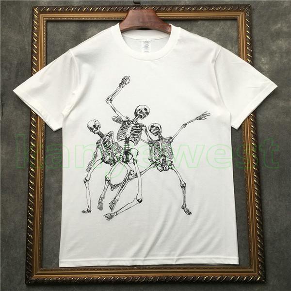 2019 hotselling Luxury Mastermind Japan MMJ Runway tee mens Dance skull printing T shirt Men Cotton T shirts tees Hiphop Streetwear tops