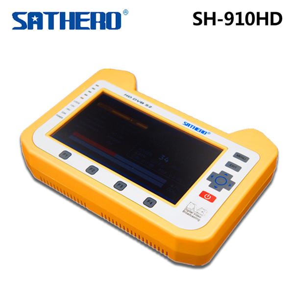 Sathero SH-910HD Receptor de TV DVB-S / S2 Medidor digital satelital Analizador de espectro en tiempo real Buscador de señal