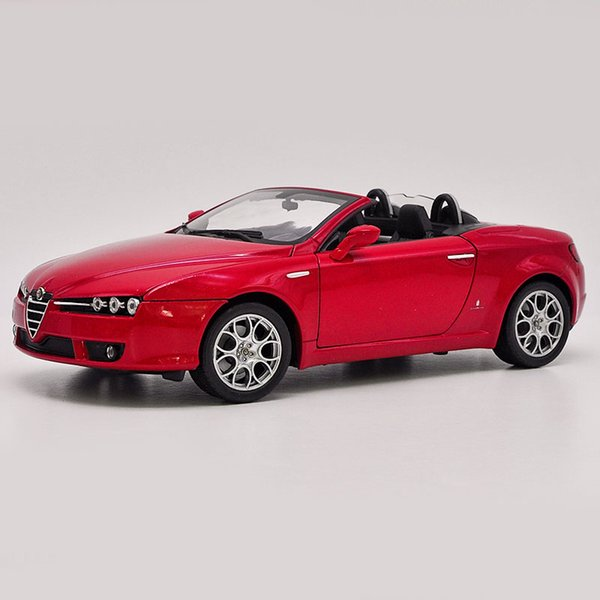 1:18 scale Alloy Toy Vehicles Alfa Spider Soft-Top Car Model Of Children's Toy Cars Original Authorized Authentic Kids Toys