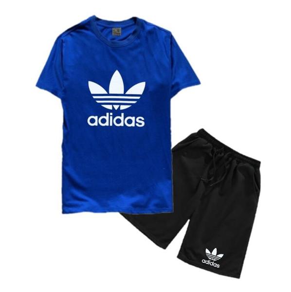 2020 erkek Çocuklar Setleri Çocuklar T-shirt Ve Pantolon Çocuk pamuk Setleri Bebek Erkek Kız Yaz Elbise Bebek Spor Takım Elbise 2 Adet Set coco 2-8 T
