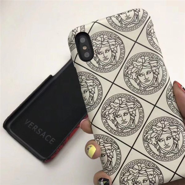 Brand Print Phone Case Luxury Phone Protect Cover Phone Case for IPhone 6/7/8 Plus X XR XS Max
