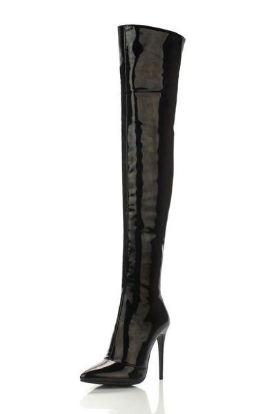 Die Schuhe 12cm der ZK Frauen hohe Absätze lädt über scharfem Aufladungsporzellan size34--45 auf