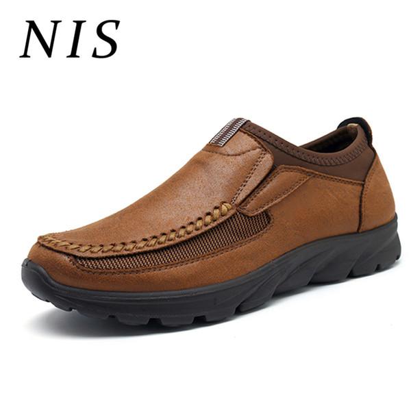 Tamaño Casuales Zapatos Hombres Gran Pu Planos Cuero La Suave Mocasines Nis  De gSAqw 9a6ec886d533