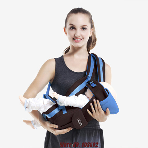 Activity & Gear Comfortable Fashion Designed Cotton Baby Sling For Newborns Able Breathable Baby Wrap And Carrier Backpack For Infant