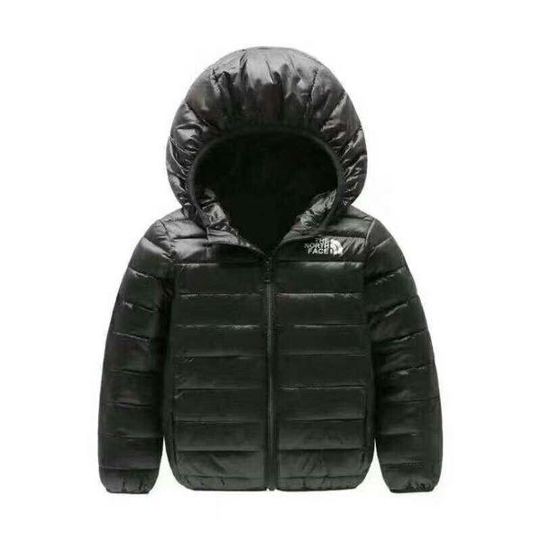 2019 marka kuzey Çocuk giyim Erkek ve Kız Kış Sıcak Kapüşonlu Ceket Çocuk Pamuk-Yastıklı Aşağı Ceket Çocuk Ceketler 4-12 Yıl