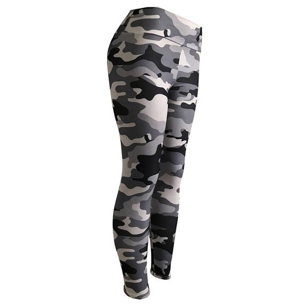 Yoga Pantaloni Donna Leggings Camouflage Fitness Stretch Leggings Sportivi In Esecuzione Collant Ropa deportiva Mujer Pantaloni Allenamento Palestra # 278570