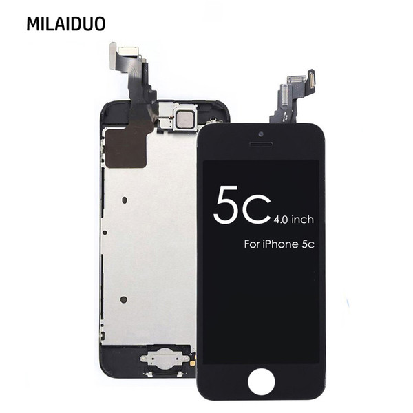 LCD Display For iPhone 5C Touch Screen Digitizer Assembly Replacement
