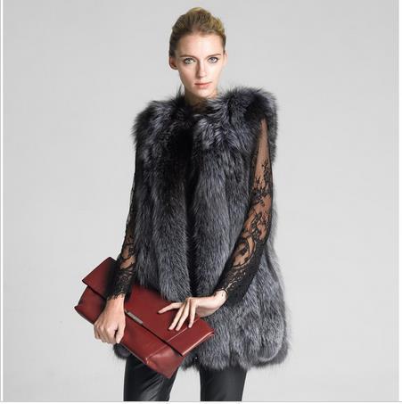 2019 colete de pele women winter fur coat slim warm faux plus size fur vest thicken casaco vintage women faux gilet coat