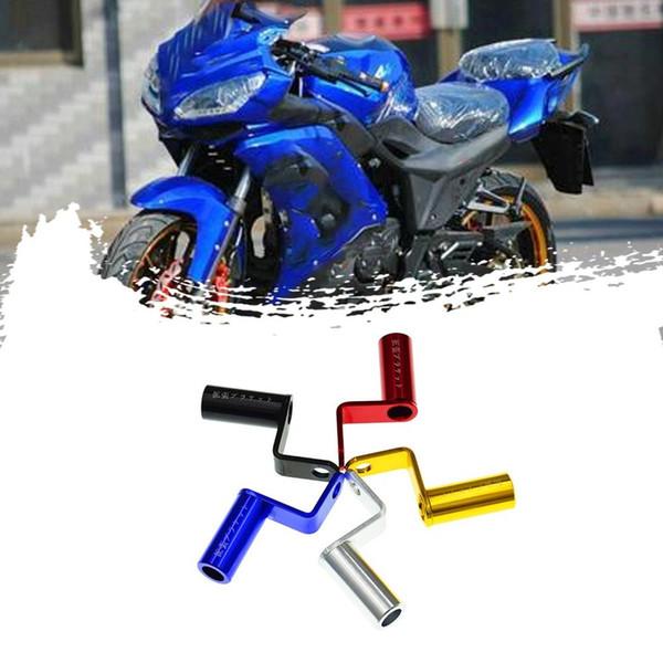 Durevole espansione del motociclo Rack stand retrovisione manubrio Mirror Mount Adapter moto leggera espansione Staffa Phone