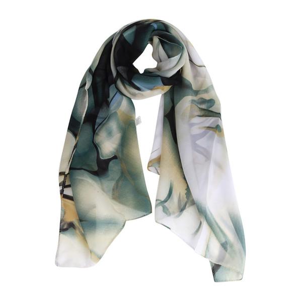 Fashion Lady Long Wrap Soft Chiffon Shawls and Scarves Women's Shawl Print Chiffon Scarf Cashmere Scarves high quality #YL5