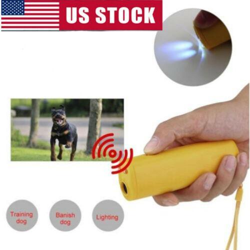 US Anti-Bark Barking Dog ultrasons agressif Repeller contrôle Pet Dog Repeller Barking Stopper Trainning Appareil