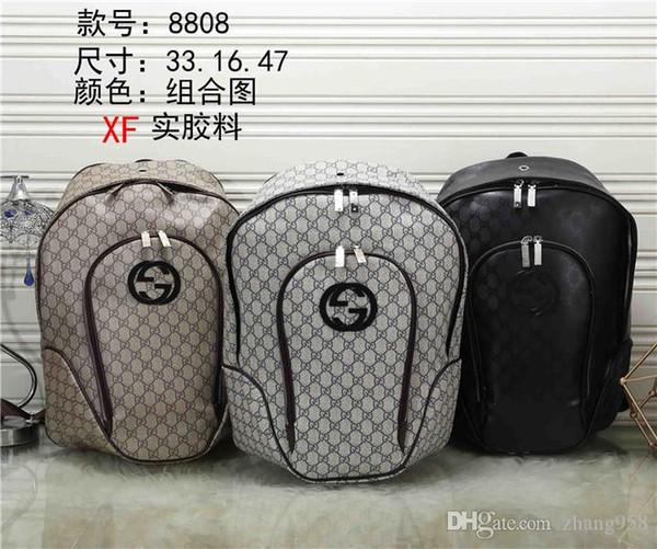 2019 GD Bester Preis Qualität Handtasche Tote Schulter Rucksack Tasche Geldbörse Brieftasche XF8808