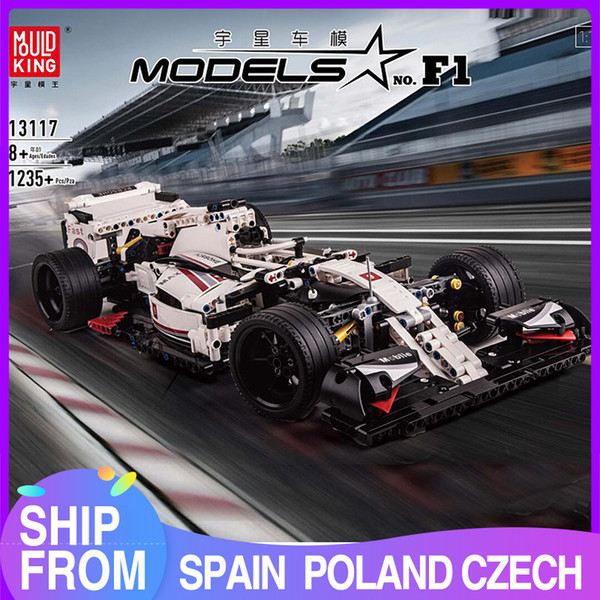 best selling 13117 1235PCS Technic Stadt F1 Racing auto Die 24 stunden Rennen Auto Modell Bausteine Ziegel mit Building Blocks compatible 42096