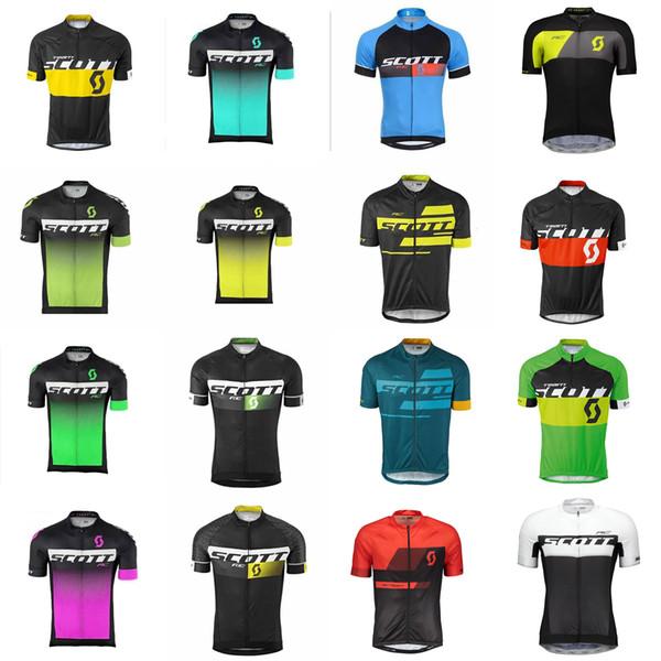 Maglia da ciclismo SCOTT team manica corta maglia abbigliamento bici quick dry mountain bike ropa ciclismo C2605