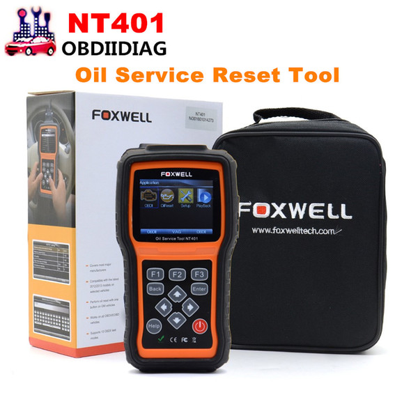 Foxwell NT401 Oil Reset Tool Auto Scanner Diagnostic Tools Car Scanners Automotive Oil Light Service Tool