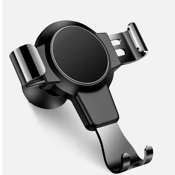 Gravity Car Holder Telefono Per Telefono in cunicolo di ventilazione della clip Monte Magnetico telefono delle cellule del supporto di sostegno del basamento