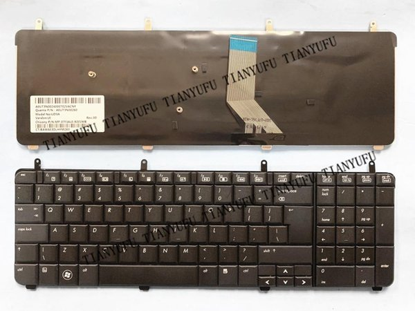 NEW US DV7 KEYBOARD For PAVILION DV7-2000 DV7-2100 DV7-2200 DV7-3000 DV7-3100 dv7t-3000 Laptop Keyboard tested 100% work