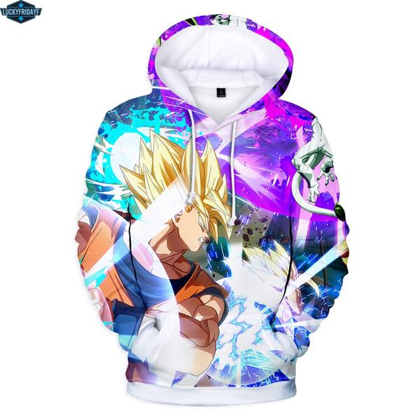 Sweats à capuche 3D Anime Fashion Survêtements décontractés Hommes / Femmes Sweat à capuche Z Pull 2019 Cool