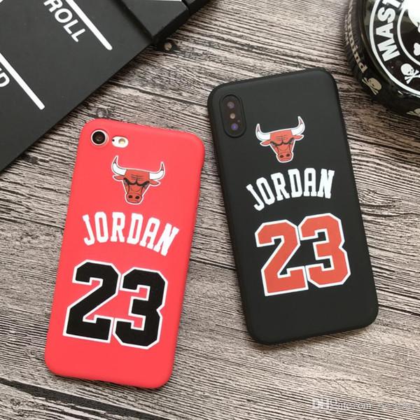 Custodia in silicone morbido per Mytoto Chicago bull sport per iphone 7 7plus 5 5 s se 6 S 6s plus 8 8plus X casi di telefono rosso capa