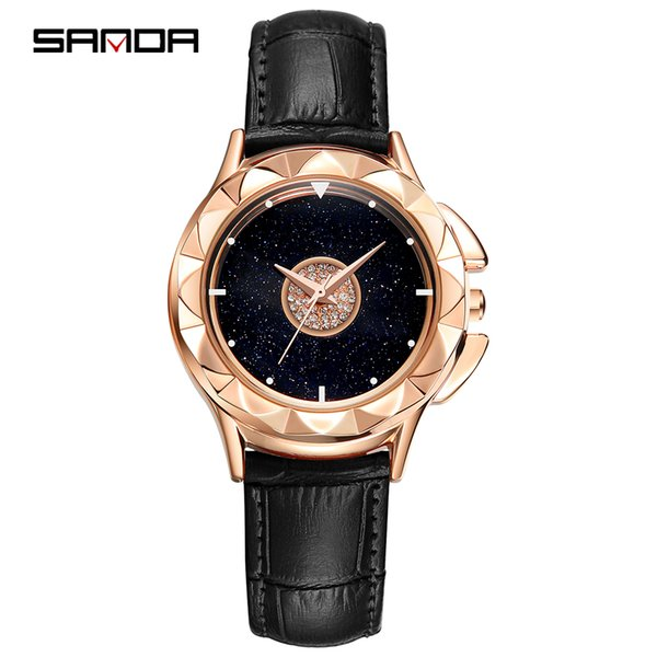 wholesale 2019 new belt watch for women a lucky break watch web celebrity shake tone with the same trend simple student quartz watch
