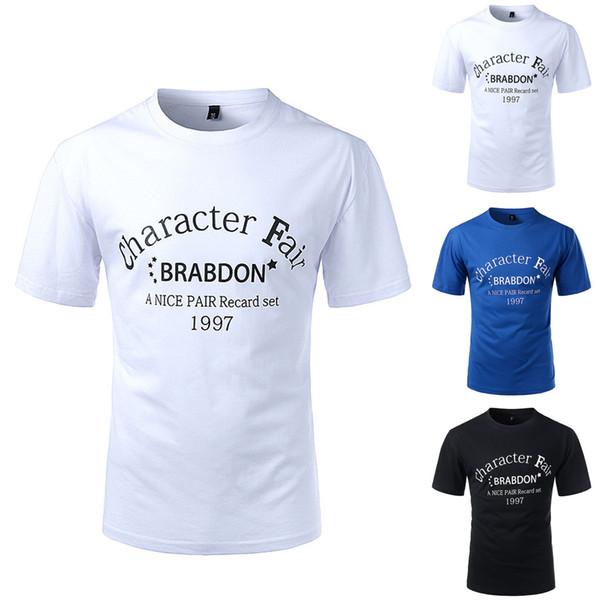 2019 Moda Masculina Mundo Impressão Camiseta Folha de Manga Curta Tops Ocasional Aberto Shirtst camiseta harajuku streetwear camisetas hombre