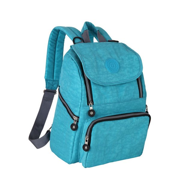 Waterproof Nylon Mother's Backpack Pregnant Women's Waiting Period Fashion Storage Bag Waterproof Nylon Diaper Shoulder Bag RRA714