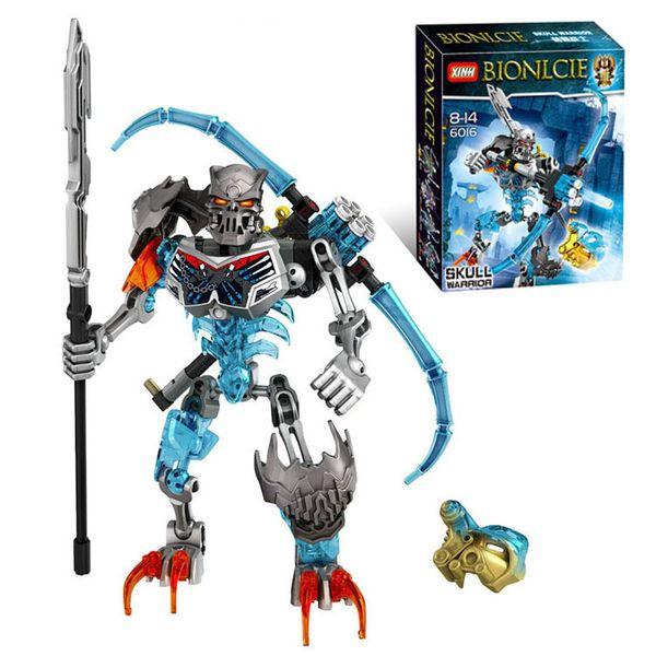 Skeleton Warrior Knights Assemble Building Block Children's Toys