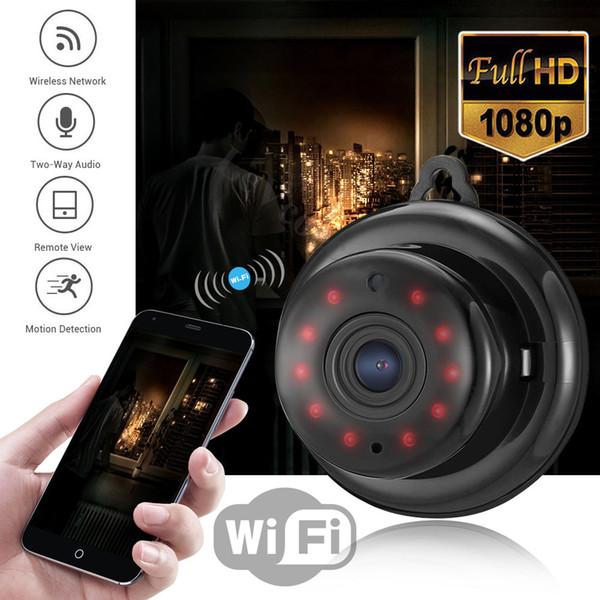 Caméra IP sans fil HD 1080P Mini Wifi Caméra Réseau P2P Moniteur de bébé 2MP CCTV Vidéo de sécurité avec IR-cut Two Way