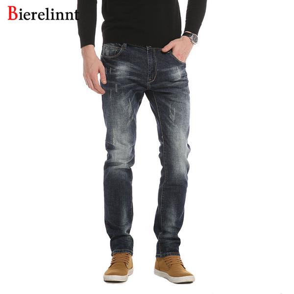 2017 Nueva Llegada de Buena Calidad Pantalones Vaqueros Pantalones Largos de Mezclilla, Venta al por mayor al por menor Otoño Invierno Moda Casual Algodón Jeans Hombres, 6365