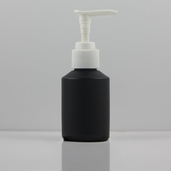 negro esmerilado con bomba de blanco