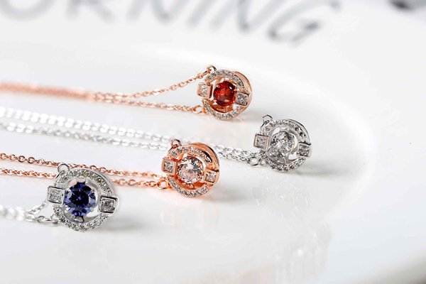 Rose gold sterling silver material can be moved. The middle of the drill bit keeps beating. You are the brightest!