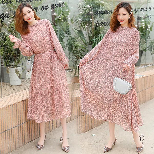 2019 Pengpious Plus Size Maternity Summer Dress Fashion Pregnant Women  Spring Fairy Floral Dress Long Lantern Sleeve Maxi Cute From Qwinner,  $30.25 | ...