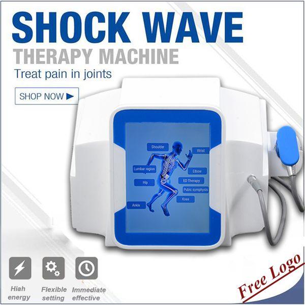 equipo de terapia de ondas acústicas ESWT HealEasy Terapia física terapia de ondas de choque equipo de tratamiento de educación portátil equipo de fisioterapia de ondas