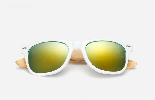 50MM54mmsunglasses Vintage Sun Glasses Men Women Ben 50mm 54mm Glass Lenses With Case