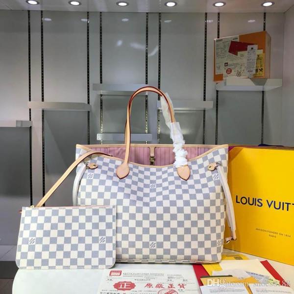 novo saco de designer de moda clássico são saco de luxo compacto fácil de transportar, sacos de mão com bom número de qualidade de couro: 81 M40990