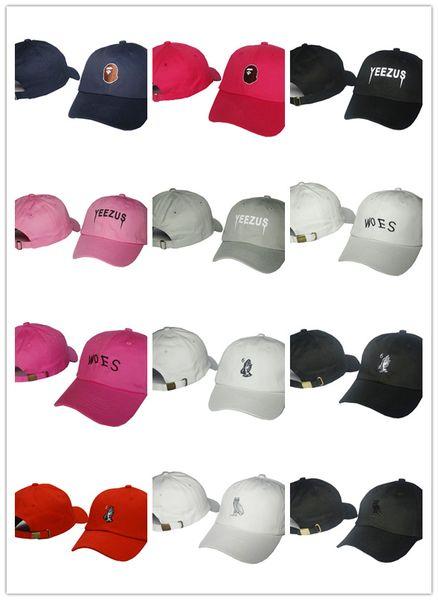 Cappelli caldi di buona qualità all'ingrosso 2019 per donna e uomo Cappellino da baseball con snapback di marca Moda Sport designer di calcio Cappelli con visiera Spedizione gratuita