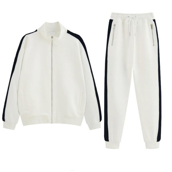 Alta Moda Dos Homens Das Mulheres Designer de Agasalhos Marca Jacket + Pant Set Luxo Casual Ternos de Primavera Kits de Alta Qualidade Top Shipping Transporte da gota B100273V